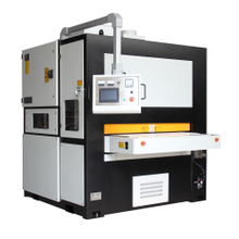 High efficiency and cost effective metal deburring, edge rounding, and surface finishing machine