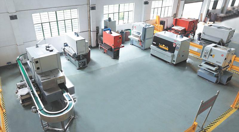 Xiangsheng metal surface treatment services center set up